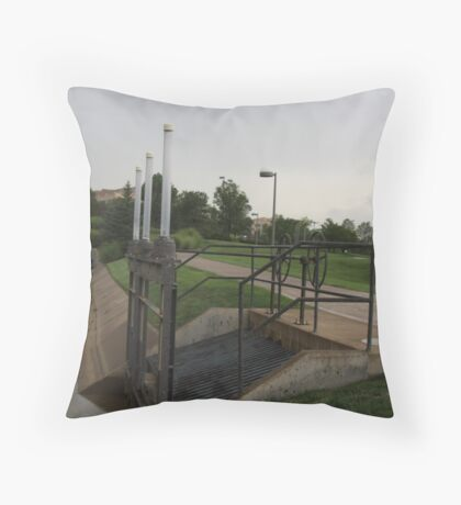 Irrigation something... Throw Pillow