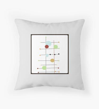 MODERN DOTS abstract Throw Pillow
