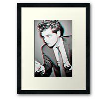 Gerard Way '3D' design Framed Print
