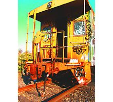 Caboose 2 Photographic Print