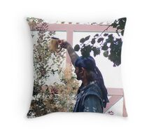 A toast to the singing Pirates Throw Pillow