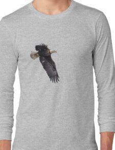 Isolated American Bald Eagle-1 Long Sleeve T-Shirt