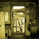 Riding the Caboose by Zolton