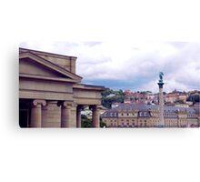 Stuttgart Roofs Canvas Print