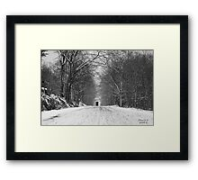 A Macabe Into Time Framed Print