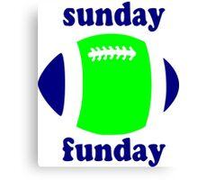 Super Bowl Sunday Funday - Seattle Canvas Print