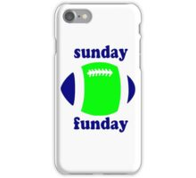 Super Bowl Sunday Funday - Seattle iPhone Case/Skin