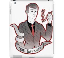the gourmet ghoul iPad Case/Skin