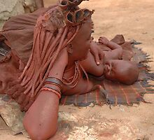 Himba  Mother by evekaczmarska