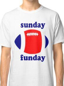 Super Bowl Sunday Funday - New England Classic T-Shirt