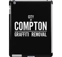 CITY OF COMPTON GRAFFITI REMOVAL iPad Case/Skin