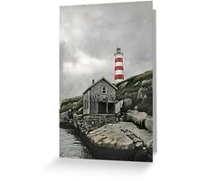 Abandoned - The Sambro Island Lighthouse Greeting Card