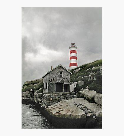 Abandoned - The Sambro Island Lighthouse Photographic Print