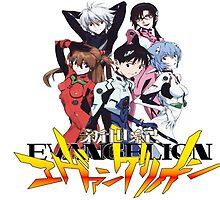 Evangelion rebuild group by celebear
