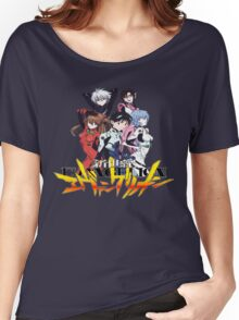 Evangelion rebuild group Women's Relaxed Fit T-Shirt