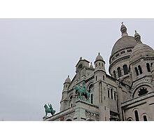 La Basilique du Sacré Cœur de Montmartre Photographic Print