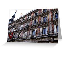 Art on the walls Greeting Card