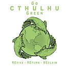 Go Cthulhu Green by creepyseb