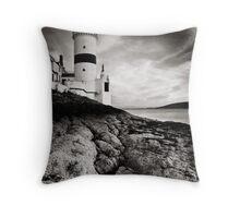 Cloch Lighthouse Throw Pillow