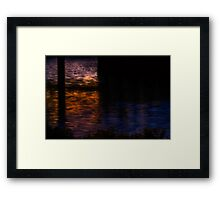 Charles painted by darkness Framed Print