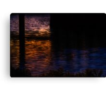Charles painted by darkness Canvas Print