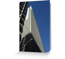 Building in San Francisco Greeting Card