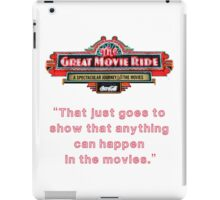 The Great Movie Ride iPad Case/Skin