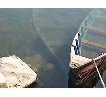 Boats Below Photographic Print