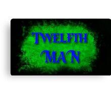 Twelfth Man Canvas Print