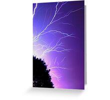 Thunderstruck Greeting Card