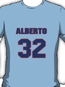 National baseball player Alberto Reyes jersey 32 T-Shirt