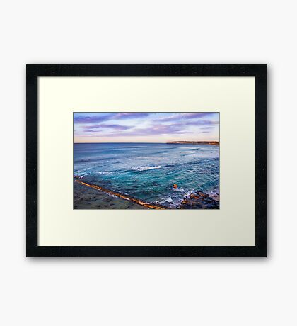 Bar Beach NSW Australia Framed Print