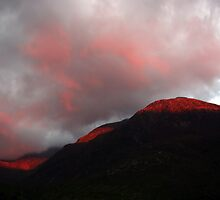 Fire in the hills by Kevin Meldrum