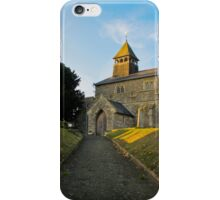 Old Church in England iPhone Case/Skin
