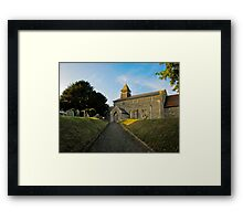 Old Church in England Framed Print