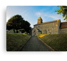 Old Church in England Canvas Print