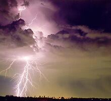 Sydney Lightning by Michael Bath