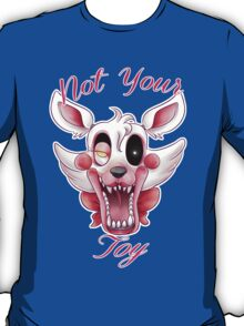 FIVE NIGHTS AT FREDDY'S- The Mangle 2.0 +text T-Shirt