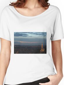Paris at Dusk Women's Relaxed Fit T-Shirt
