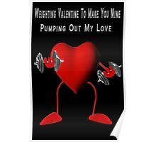 ❤ ❥ ♡ ♥ WEIGHTING VALENTINE 2 MAKE U MINE ❤ ❥ ♡ ♥ Poster