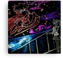sailor moon princess mars & jedite Canvas Print