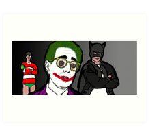 Ben Stein is the Joker Art Print