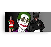 Ben Stein is the Joker Canvas Print