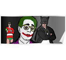 Ben Stein is the Joker Poster