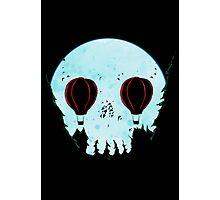 Skull Moon Photographic Print