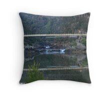 Cataract Gorge Throw Pillow