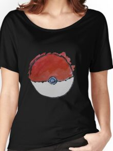 Scribble Pokeball Women's Relaxed Fit T-Shirt