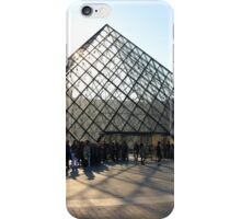 La Pyramide du Louvre iPhone Case/Skin