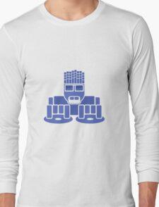 DJ Equalizer (Blue Print) Long Sleeve T-Shirt