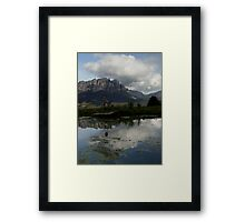 photoj Tasmania, Mt Roland Framed Print